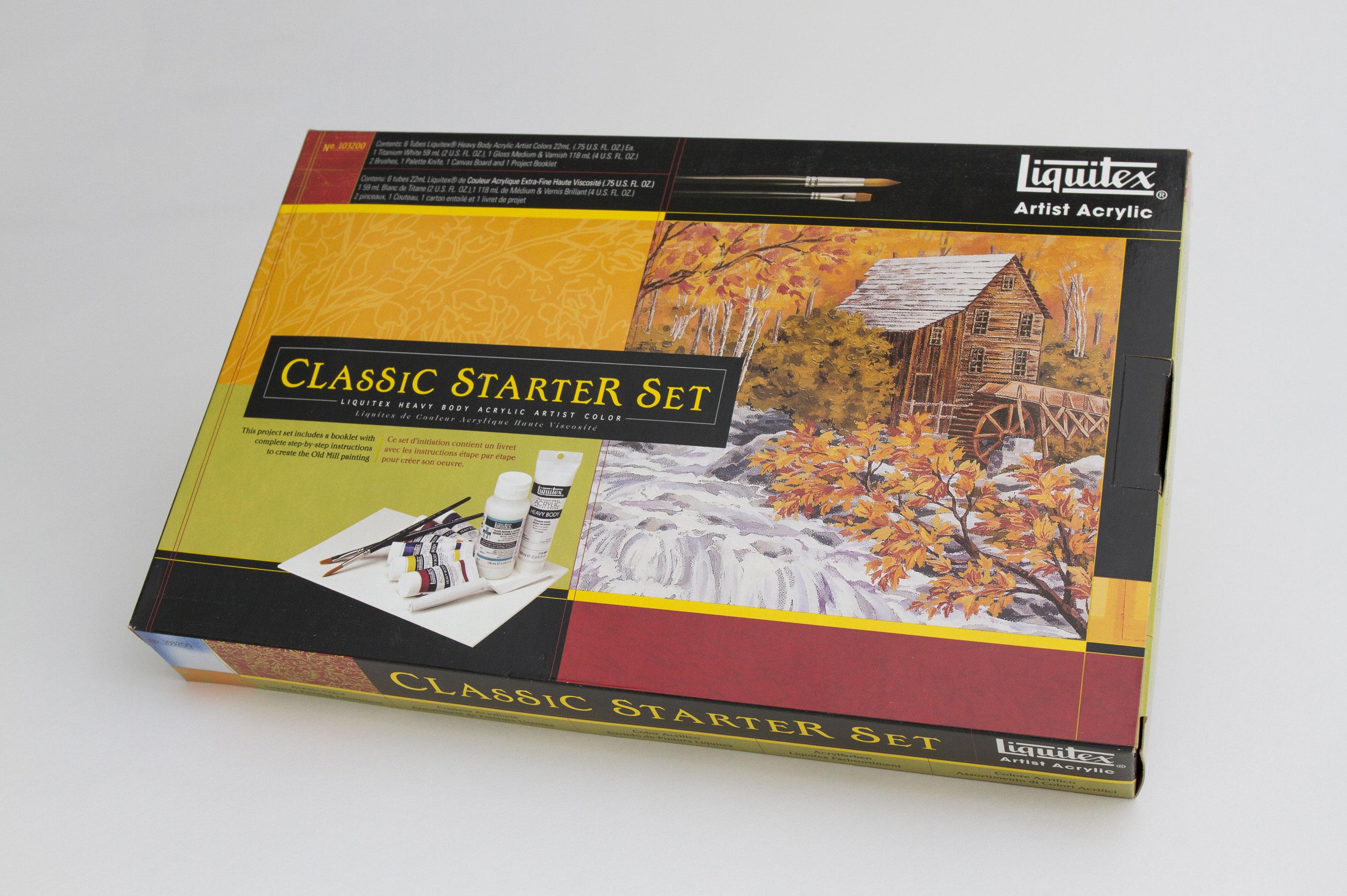 Liquitex packaging