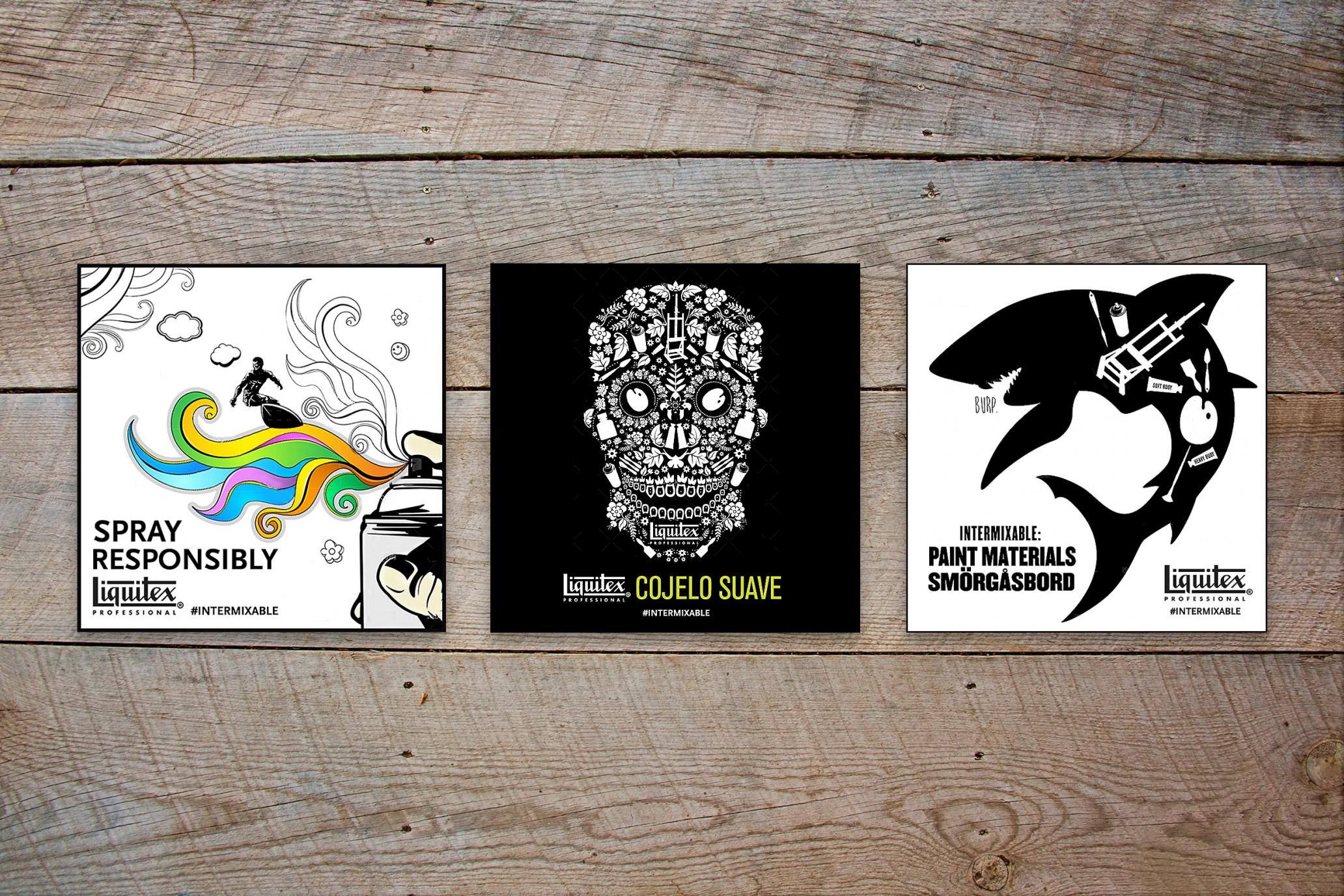 Liquitex Stickers