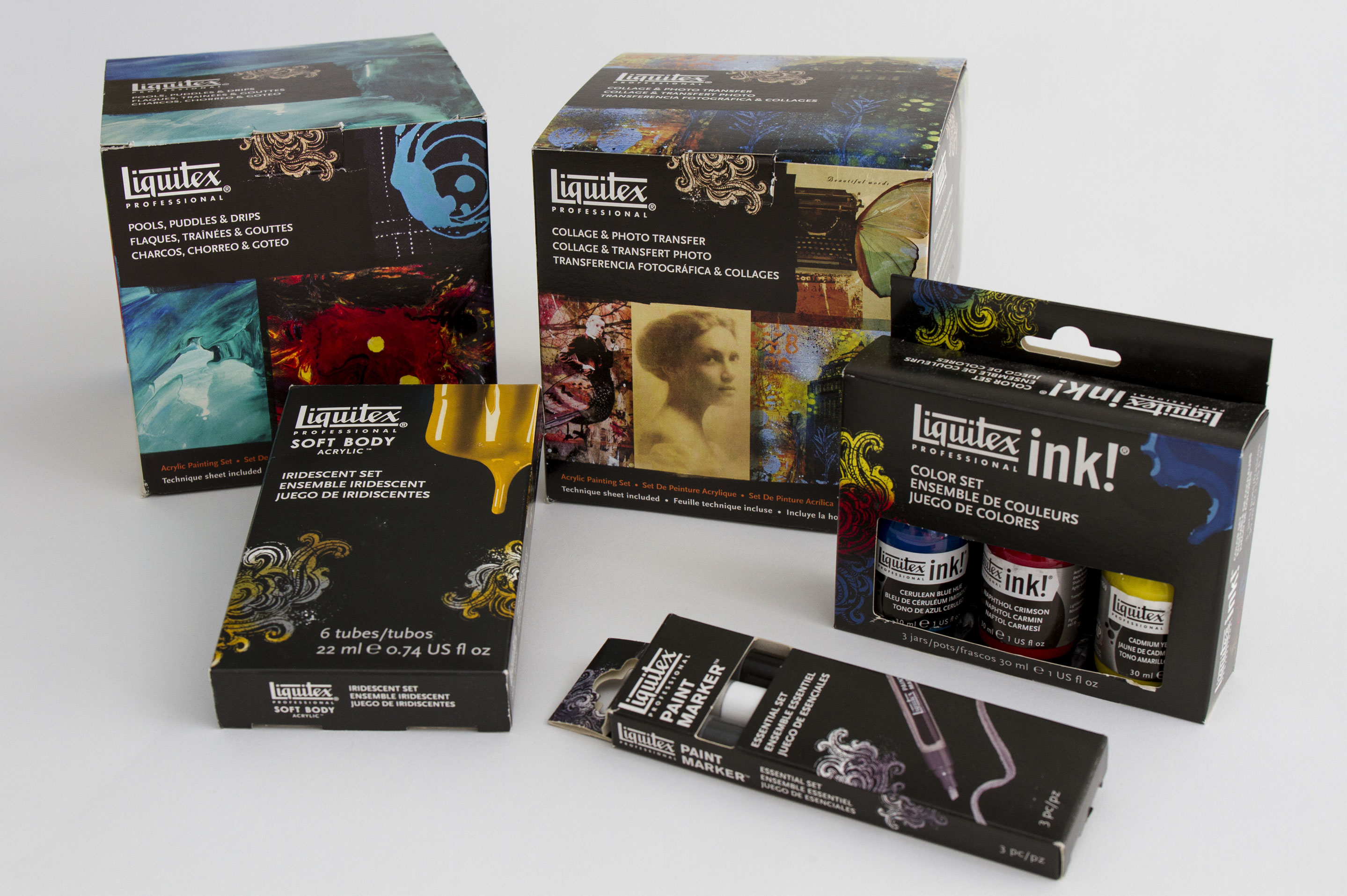 Liquitex packaging